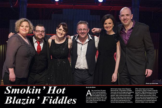 'Blazin' fiddles'
