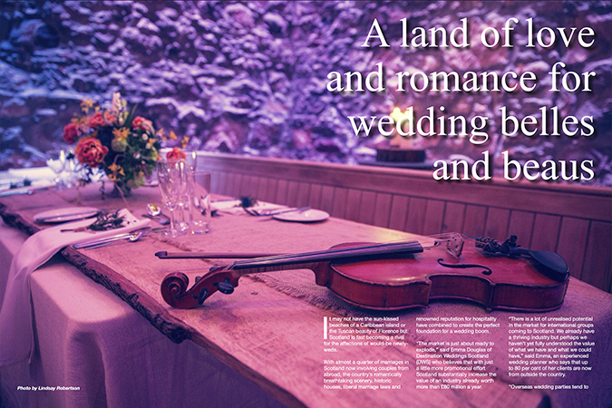 'Getting married in Scotland'