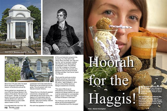 'Hoorah for the Haggis'