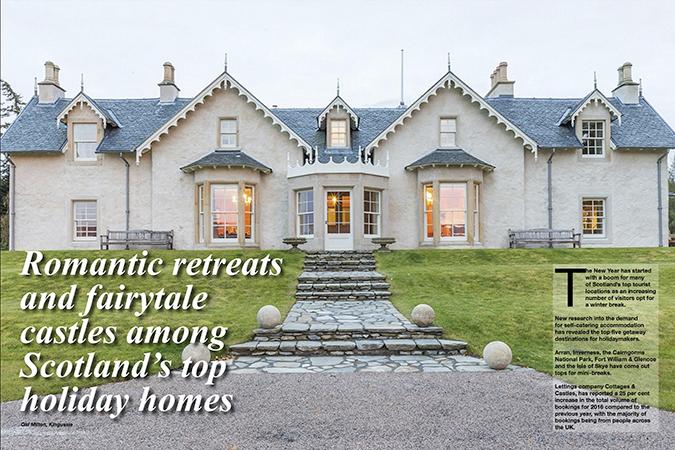 'Romantic retreats and fairy tale castles'