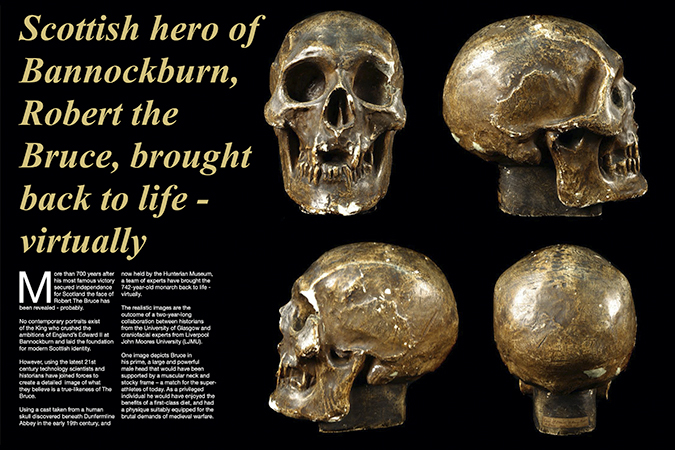 'Scottish hero of Bannockburn'
