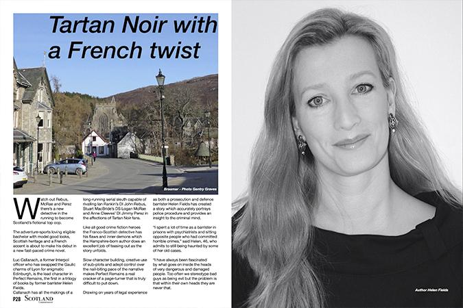'Tartan noir with a French Twist'