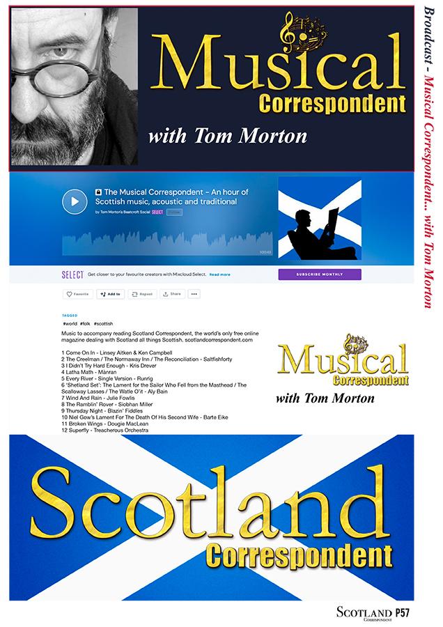 'Musical CorrespondentPodcast 1'