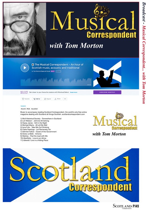 Musical Correspondent podcast 5